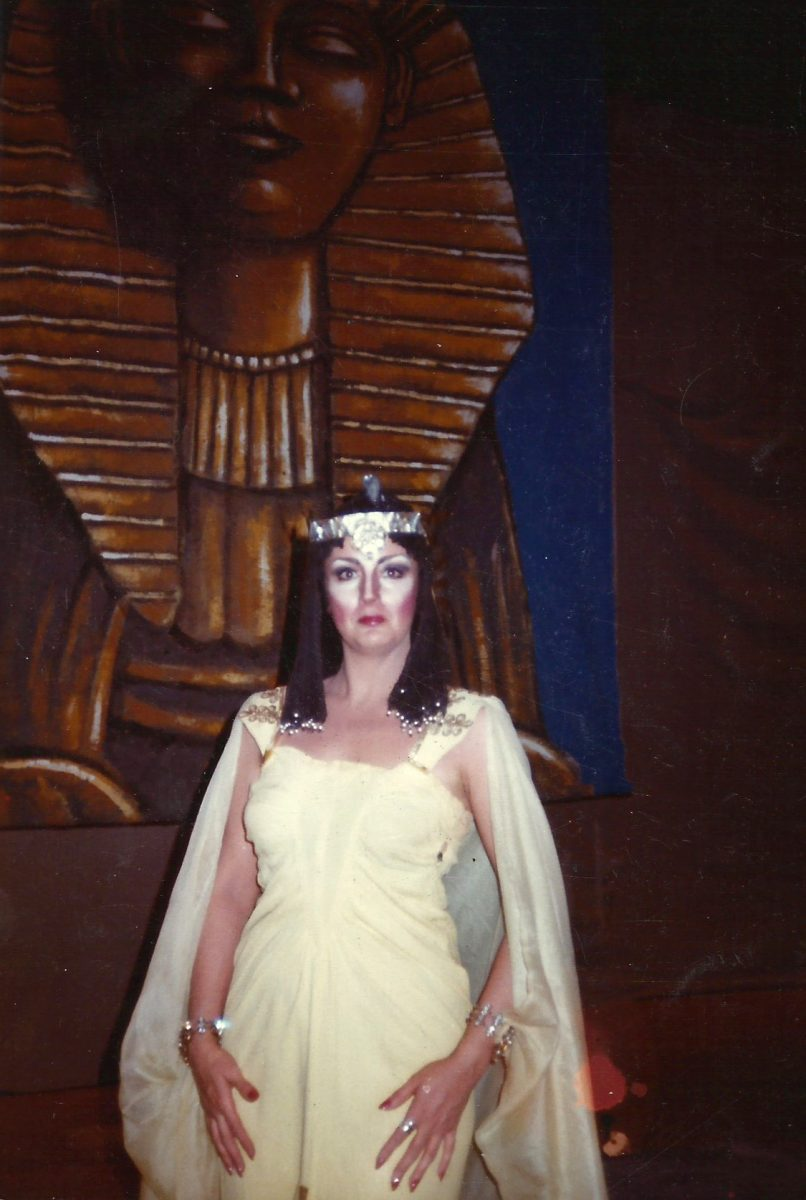Amato Opera, Aida, 1980 – Janice as Amneris (Act 2)