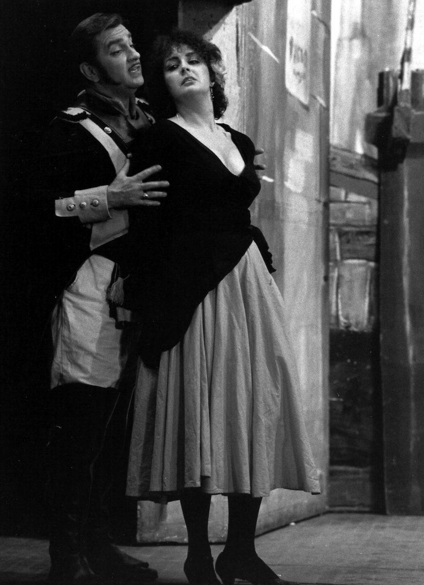 Amato Opera, Carmen, 1982 – Act 1 (Seguidilla)