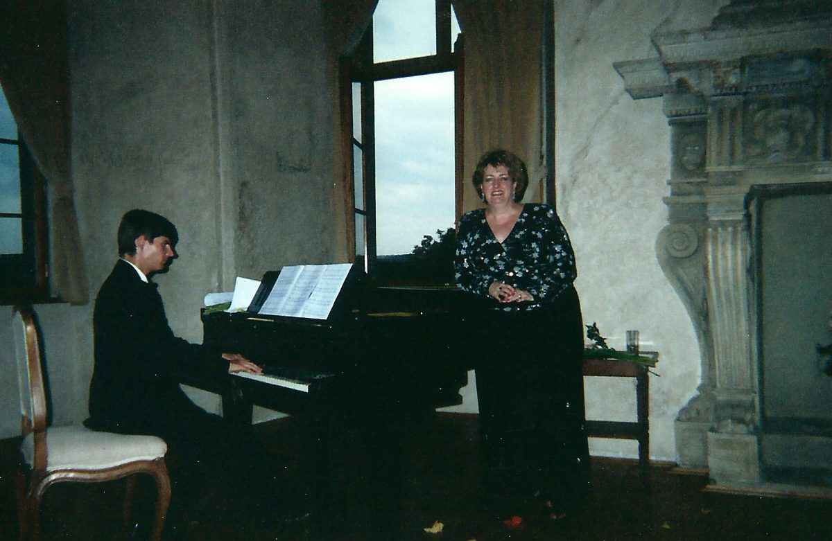 Czech Republic Concert Tour, 2004 – Janice with Michael Keprt, pianist