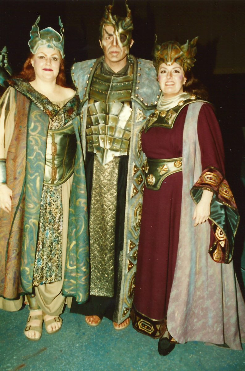 Die Walküre, 1998 – Karen Bureau as Brünnhilde, Edward Crafts as Wotan, Janice as Fricka