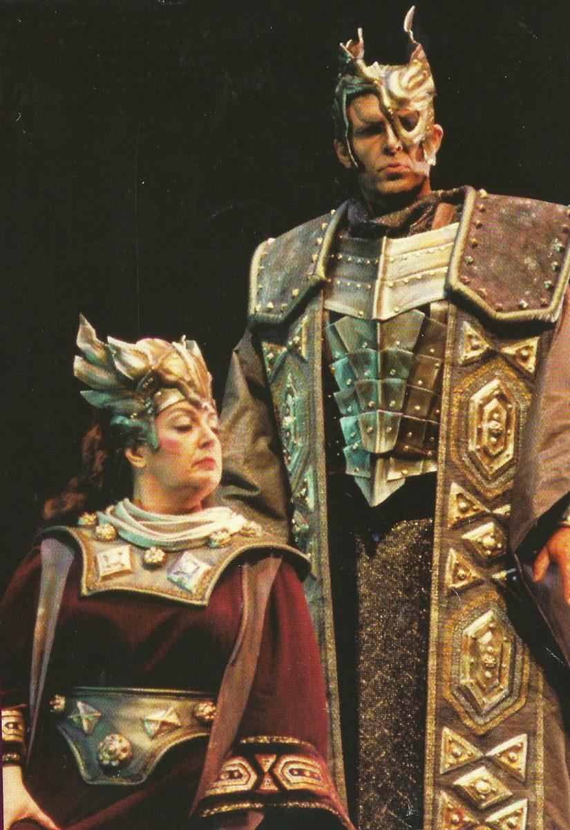 Das Rheingold, 1993 – Edward Crafts as Wotan, Janice as Fricka