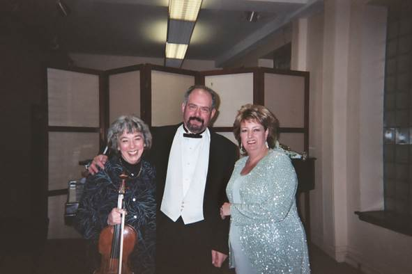 Steinert Hall recital, Boston, 2004 – Mimi Bravar, viola, and Jeffrey Brody, pianist