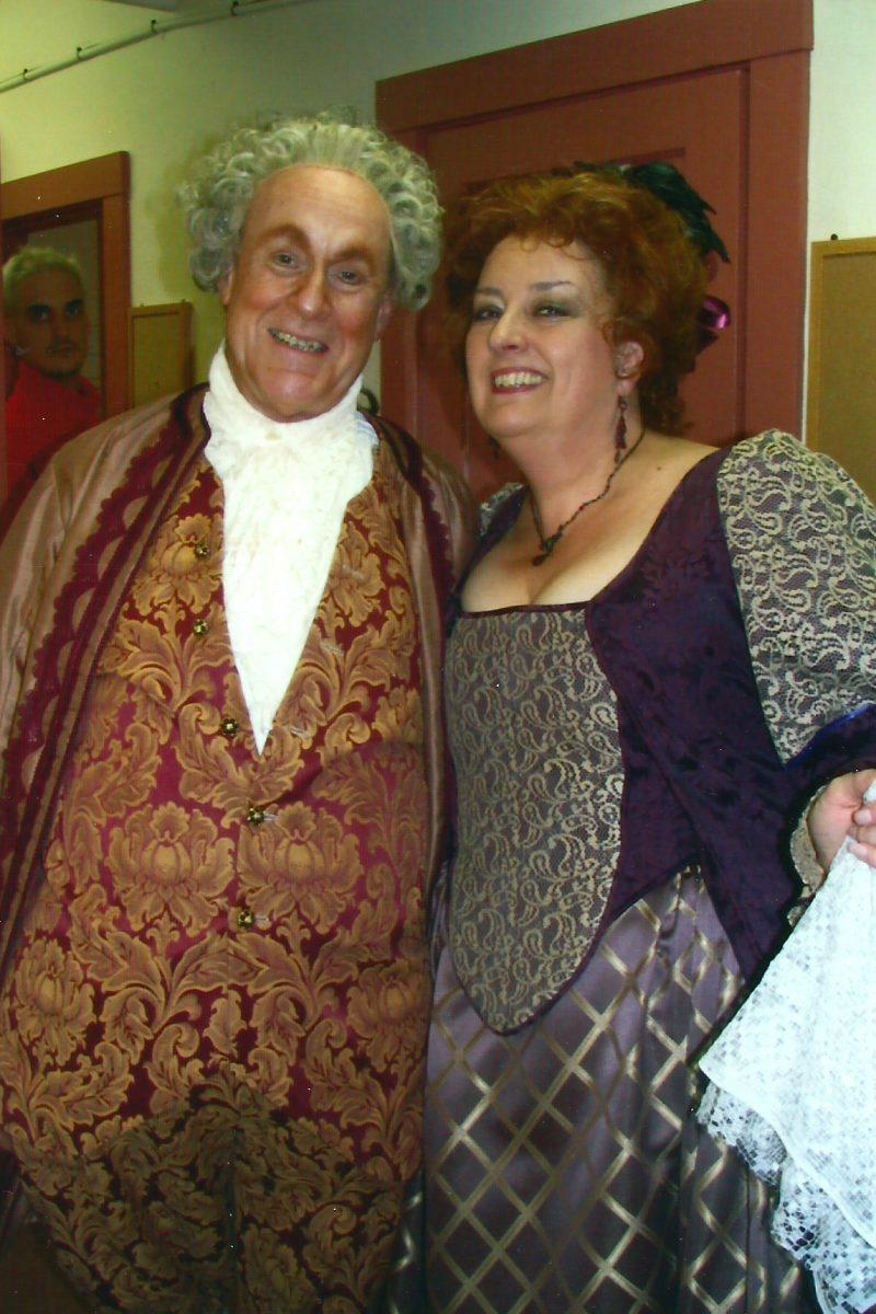 Granite State Opera, Le Nozze di Figaro, 2003 - Janice as Marcellina, Dan Sullivan as Bartolo