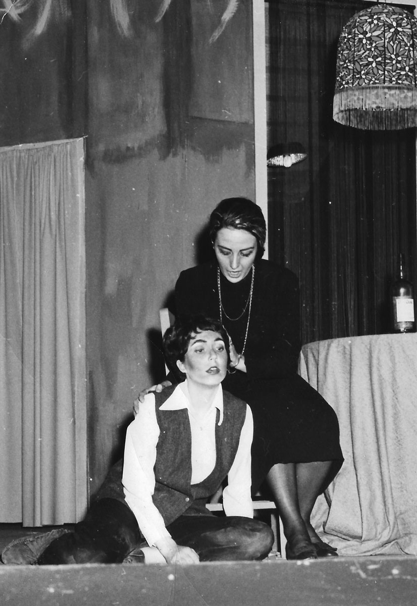 My very first opera role, Baba in Menotti