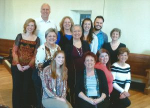 Janice with Performance Class Participants