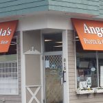 Angela's Pasta Entrence