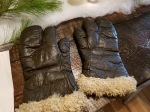 A pair of flight gloves