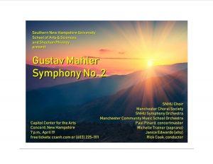 Gustav Mahler SNHU Promotion Poster