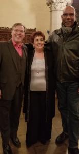 Janice Edwards with opera singers