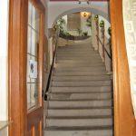 Hotel Fantaisie, staircase entrance.