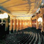 Photo of the interior of the theatre empty