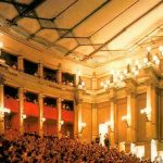 Photo of the interior of the theatre full