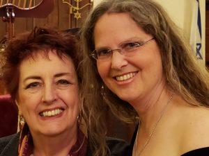 Janice Edwards and Shira Silverman Nafshi