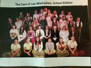 The Cast of Les Miserables: School Edition