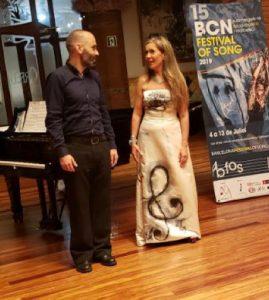Patricia Caicdo and Nikos Stavlas