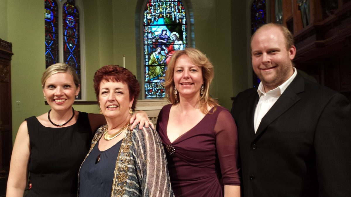 <i>Guilty Pleasures</i> concert, Grace Church, Manchester , NH, 2015 – Elizabeth Blood, pianist, Janet Wittenberg, soprano, Maxwell McGrath, tenor
