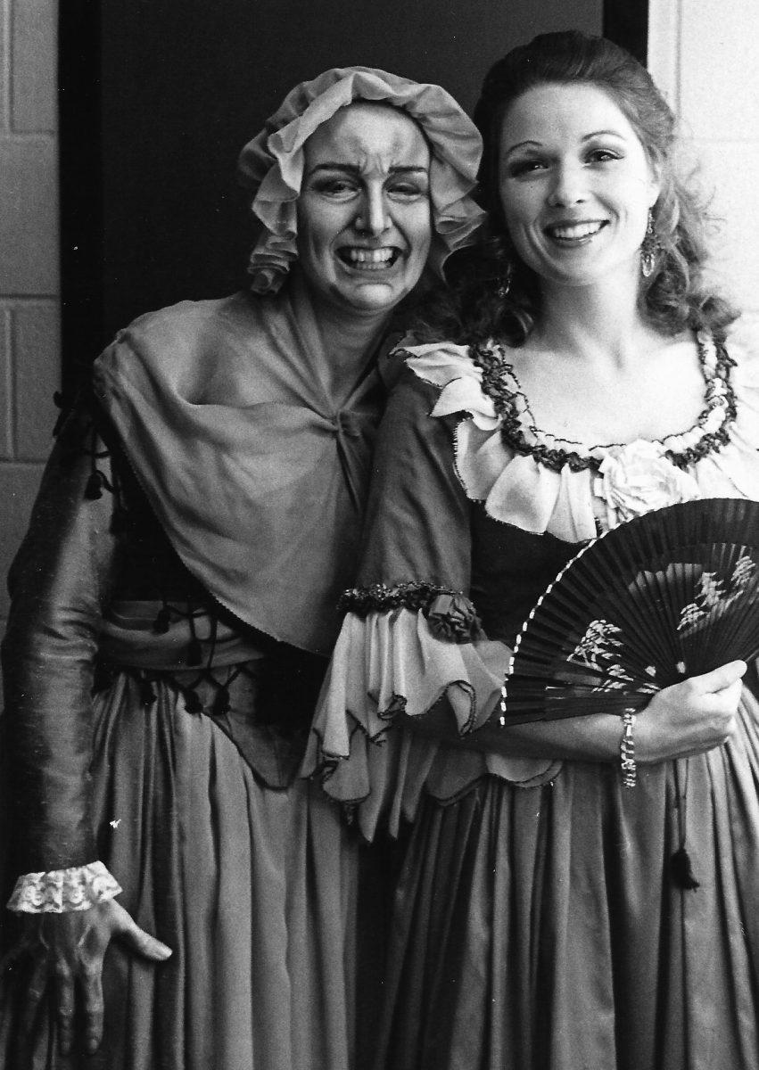 Georgia Opera, Il Barbiere di Siviglia, 1978 – Janice as Berthe, Barbara Campbell as Gilda