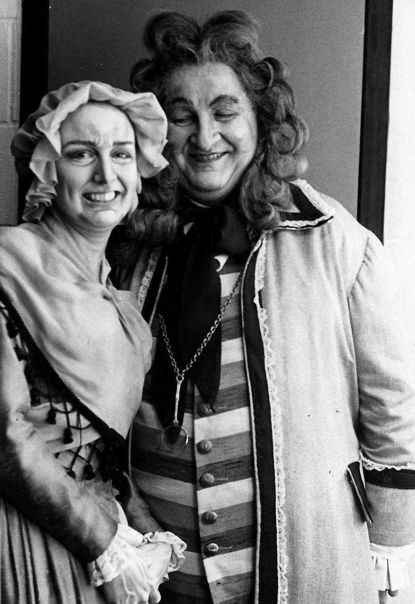 Georgia Opera, Il Barbiere di Siviglia, 1978 – Janice as Berthe, Andrij Dobriansky as Bartolo