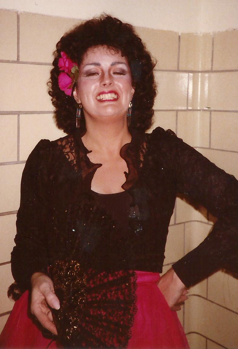 Regina Opera, Carmen, 1991 – Act 4 costume