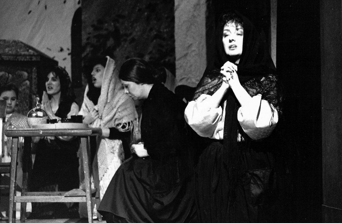 Regina Opera, Cavalleria Rusticana, 1989 – Janice as Santuzza