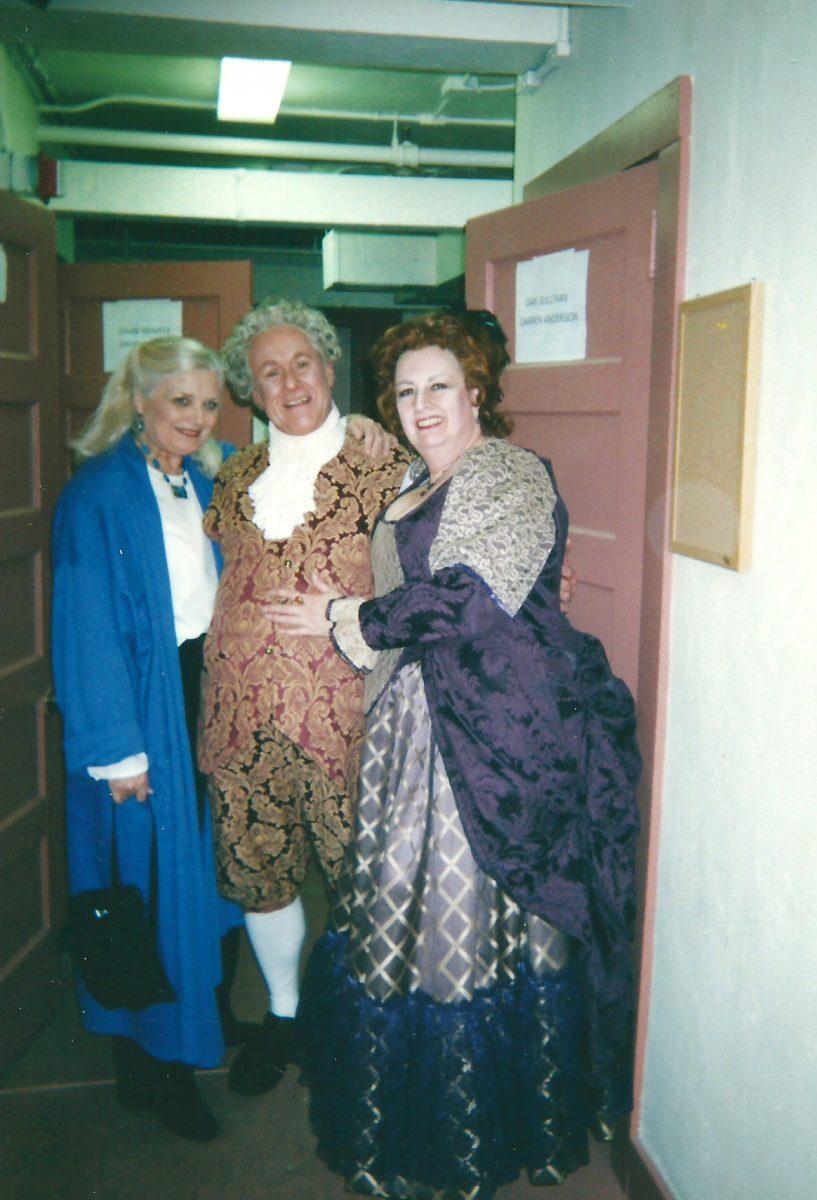 Granite State Opera, Le Nozze di Figaro, 2003 - Janice as Marcellina, Dan Sullivan as Bartolo, Sharon Daniels, Director