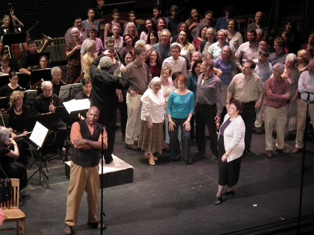 Pioneer Valley Symphony, Cavalleria Rusticana, 2015 – Janice as Mamma Lucia, Phil Lima as Alfio