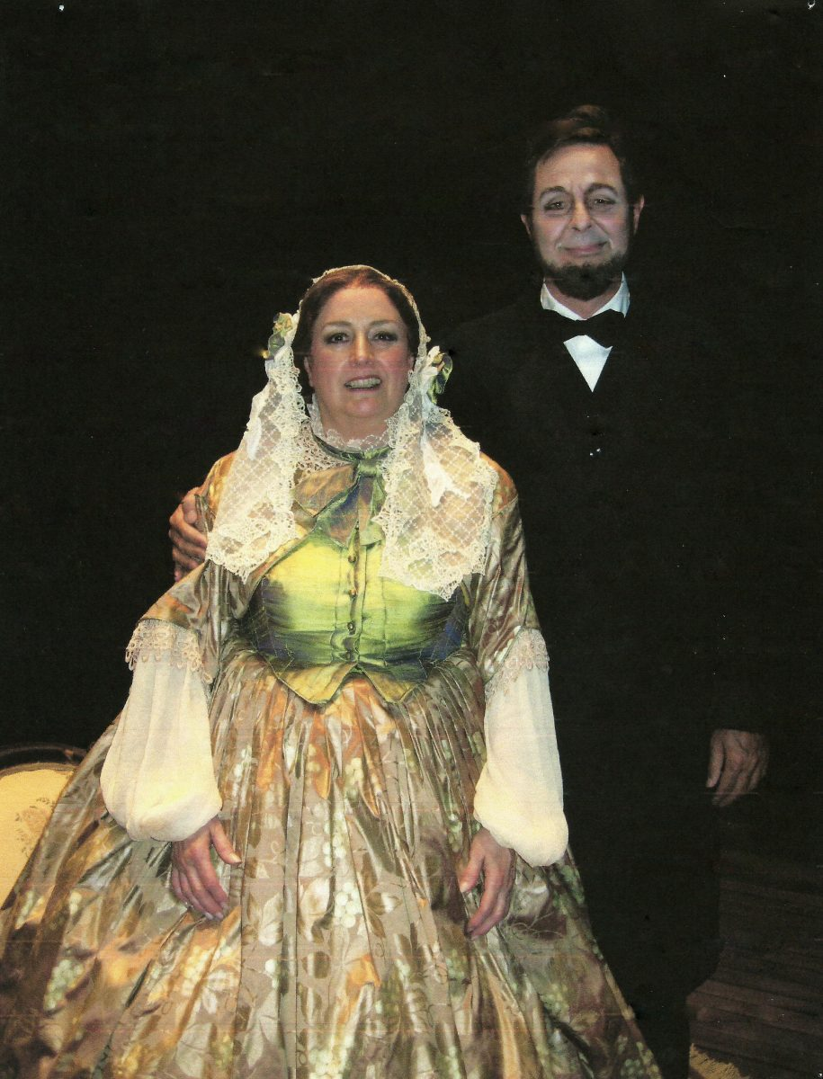 Boston Modern Orchestra Project, Our American Cousin, 2008 (Northampton, MA) – Janice as Lady Mountchessington, Don Wilkinson as Lincoln