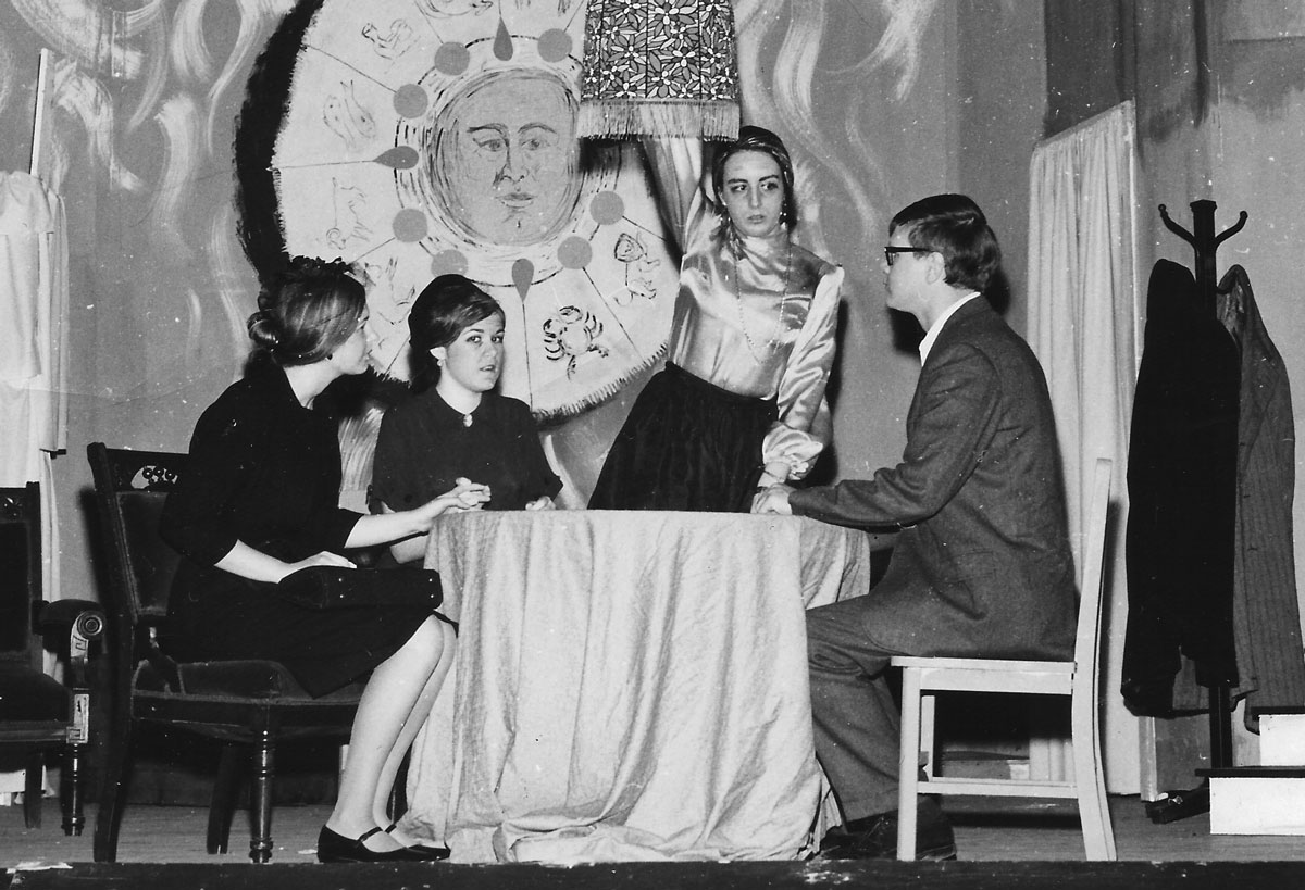 """""""The Medium"""", Brenau College 1971."""