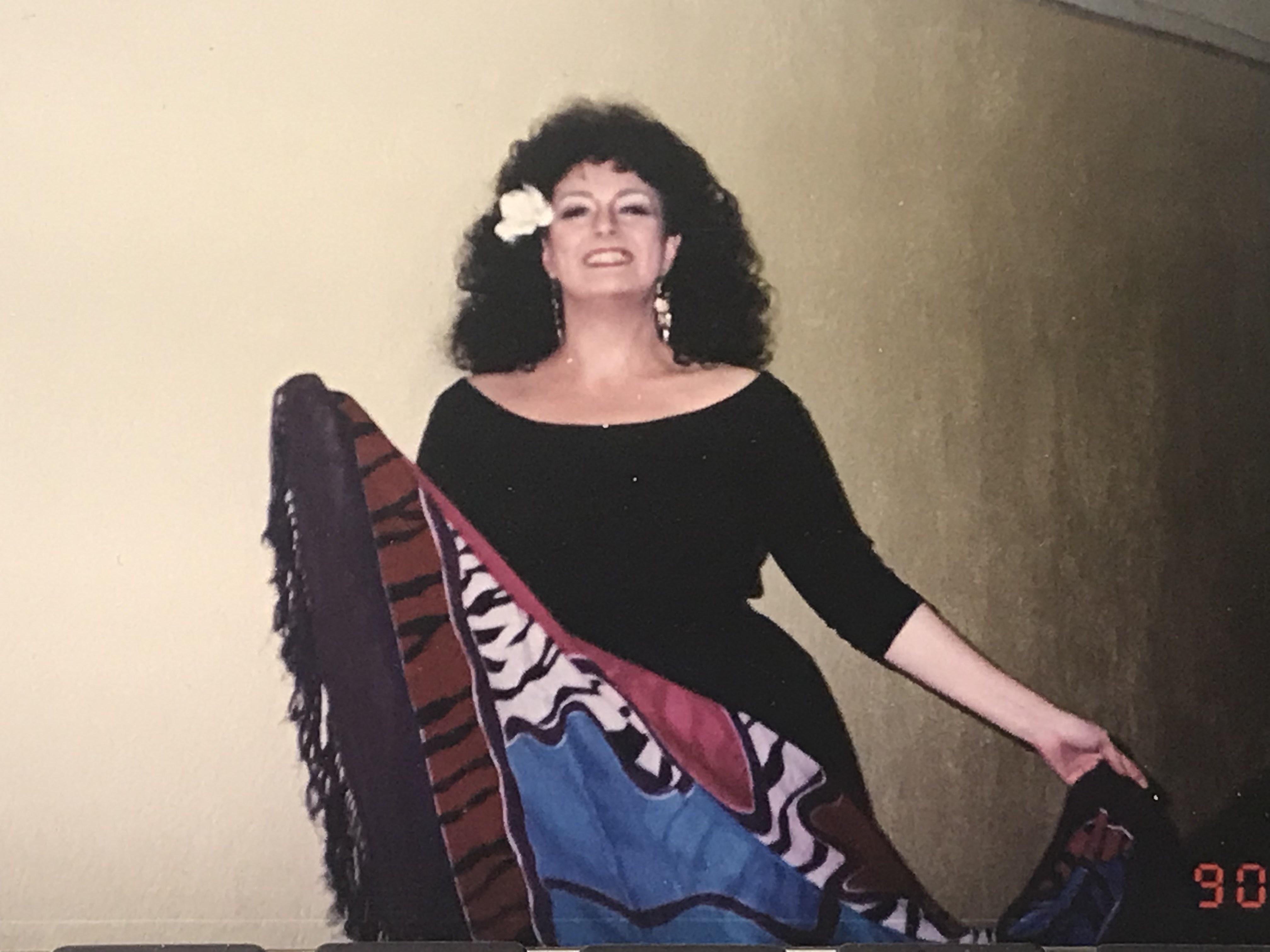 Regina Opera Carmen, 1989 - Act I costume